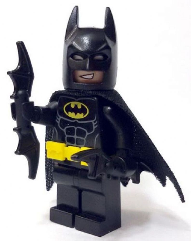 LEGO Batman with Bat-a-rang
